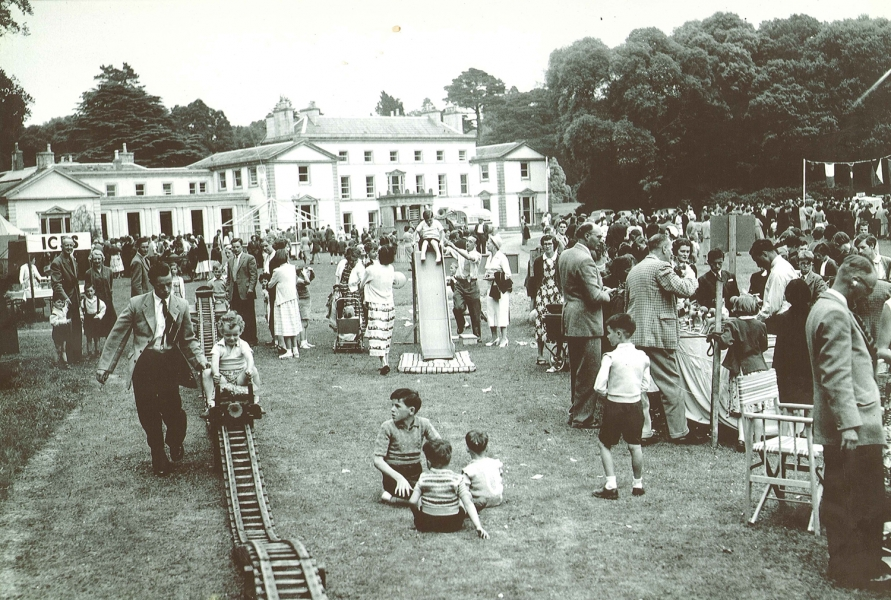 Charity festival at Fota in 1956